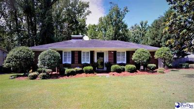 Florence Single Family Home Uc/Show For Back Up: 550 Wisteria Drive