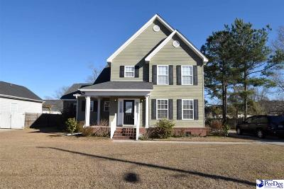 Florence Single Family Home For Sale: 3416 Twiggs Road