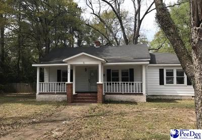 Mullins Single Family Home For Sale: 216 W Dogwood Drive