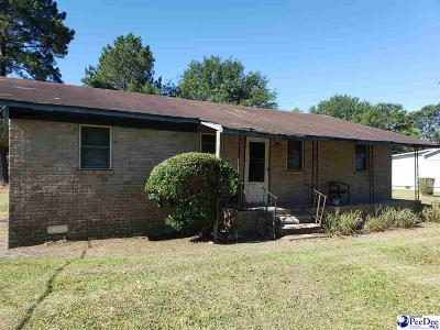 Hartsville Single Family Home For Sale: 1345 E Seven Pines St
