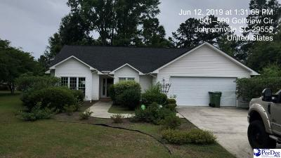 Johnsonville Single Family Home Uc/Show For Back Up: 530 Fairway Drive