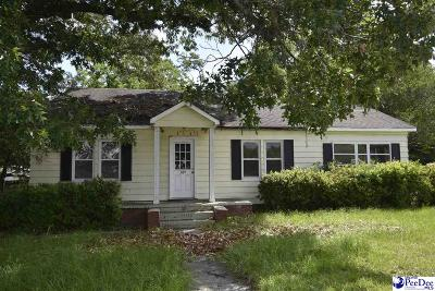 Hartsville Single Family Home Uc/Show For Back Up: 309 Patrick Hwy