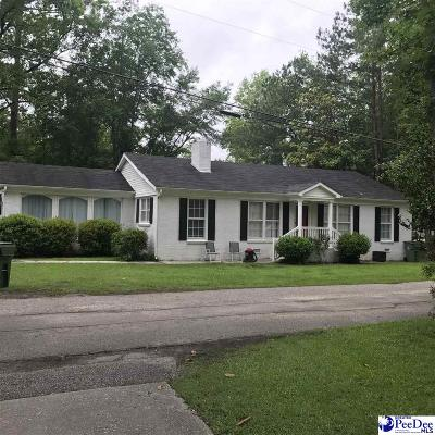 Hartsville SC Single Family Home Uc/Show For Back Up: $134,500