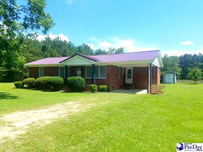 Mullins Single Family Home For Sale: 6117 Nazarene Road