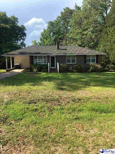 Hartsville Single Family Home Uc/Show For Back Up: 1304 Reed Avenue