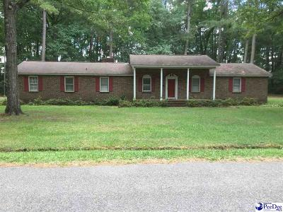 Hartsville Single Family Home Uc/Show For Back Up: 1753 Birch Drive