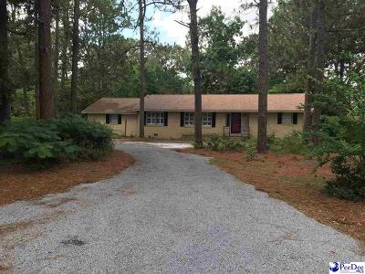 Hartsville Single Family Home New: 1500 Ballentine