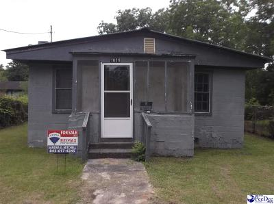 Florence Single Family Home Uc/Show For Back Up: 1016 W Pennsylvania St.