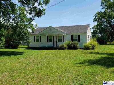 Marion SC Single Family Home For Sale: $52,000