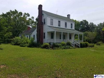 Clio SC Single Family Home Uc/Show For Back Up: $59,500