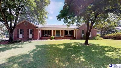 Hartsville Single Family Home Under Contingency Cont: 409 Hawthorne Drive