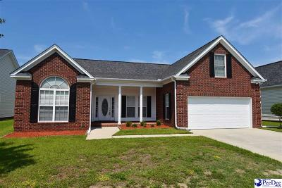 Florence Single Family Home Uc/Show For Back Up: 749 Aster Drive