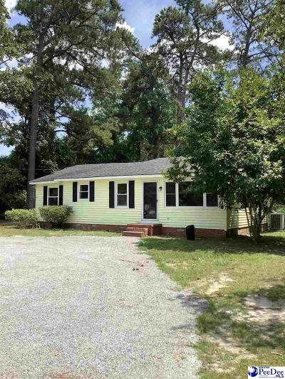 Hartsville Single Family Home For Sale: 1903 Golf Course Rd