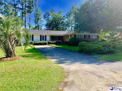 Kingstree Single Family Home Uc/Show For Back Up: 401 Witherspoon