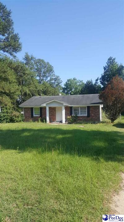 Florence Single Family Home For Sale: 5440 E Old Marion Hwy