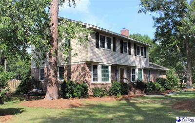 Hartsville Single Family Home Uc/Show For Back Up: 403 Hawthorne Dr
