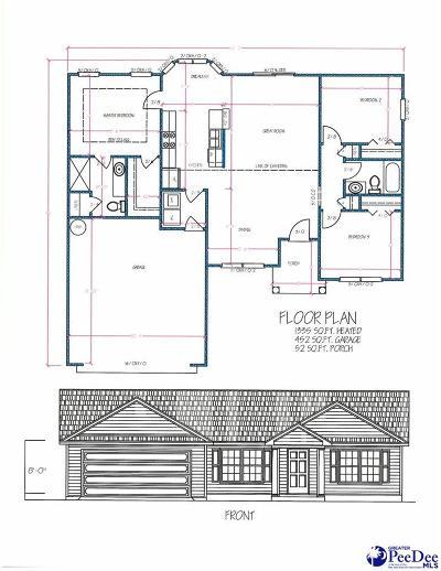 Latta Single Family Home For Sale: Lot 49 Lexyryan Court