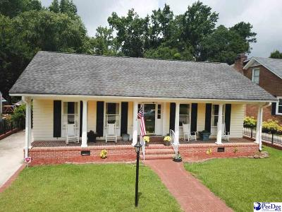 Florence Single Family Home For Sale: 865 Congaree