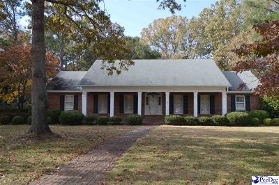 Hartsville SC Single Family Home For Sale: $274,900