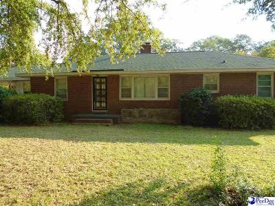 Hartsville Single Family Home For Sale: 419 Green St.