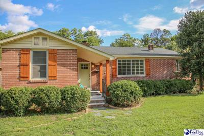Hartsville Single Family Home For Sale: 913 Hannah Ave.