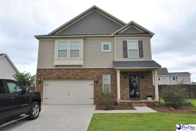 Effingham Single Family Home Uc/Show For Back Up: 1233 Purple Martin Drive