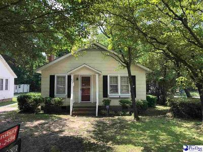 Hartsville Single Family Home For Sale: 429 Marlboro Ave