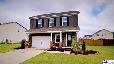 Effingham Single Family Home Uc/Show For Back Up: 1209 Purple Martin Dr.