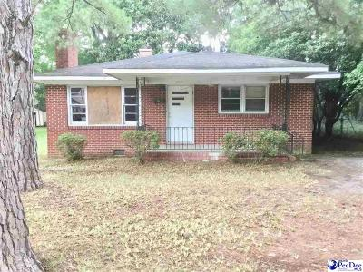 Hartsville Single Family Home For Sale: 416 Bell Ave