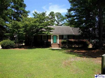 Florence SC Single Family Home Uc/Show For Back Up: $169,900