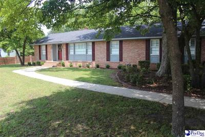 Hartsville Single Family Home Uc/Show For Back Up: 401 Wilson
