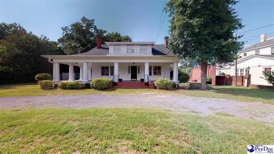 Hartsville Single Family Home For Sale: 310 W Home Ave