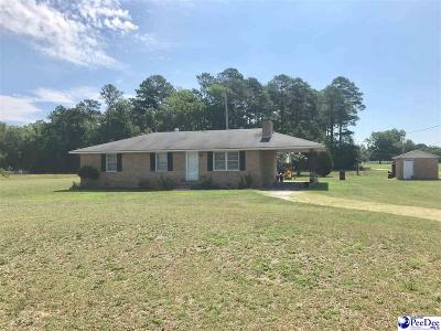 Hartsville Single Family Home Uc/Show For Back Up: 553 N Center Road