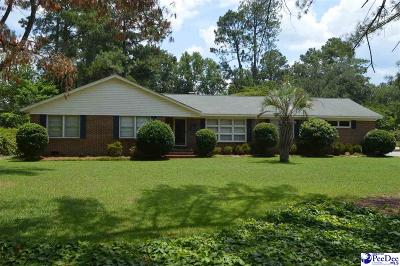 Hartsville SC Single Family Home For Sale: $194,750