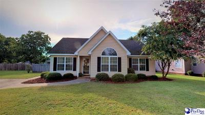 Florence Single Family Home New: 2168 Carriage Place Drive
