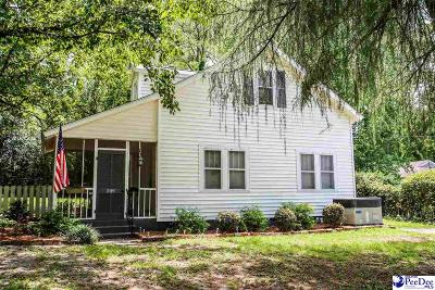 Hartsville Single Family Home For Sale: 209 Chester Ave.