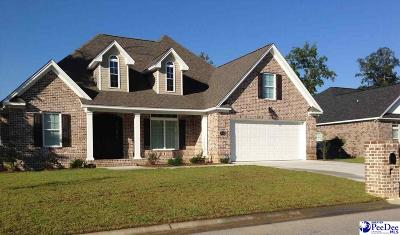 Florence SC Single Family Home Uc/Show For Back Up: $289,900