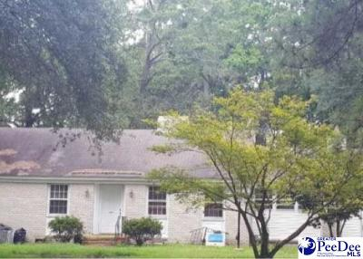 Hartsville Single Family Home For Auction: 1512 S Fourth