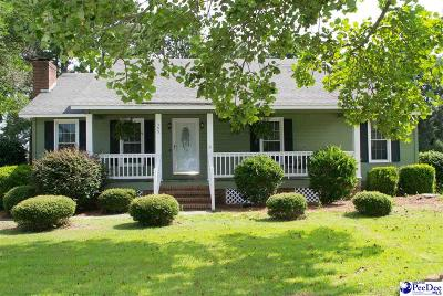 Florence Single Family Home Uc/Show For Back Up: 305 Spring Farm Rd