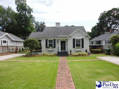 Florence Single Family Home Uc/Show For Back Up: 318 McLeod St