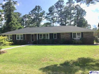 Kingstree Single Family Home For Sale: 1465 Fulton Ave