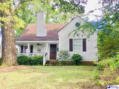 Hartsville Single Family Home For Sale: 321 Chester Ave