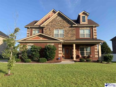 Florence Single Family Home Uc/Show For Back Up: 1631 Lake Wateree Drive