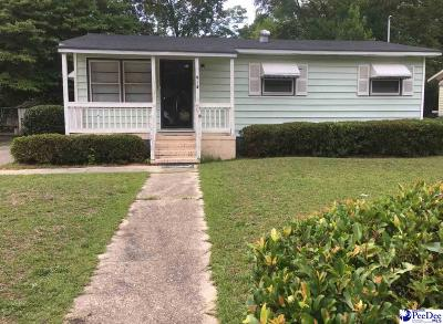 Hartsville Single Family Home For Sale: 418 Brewer