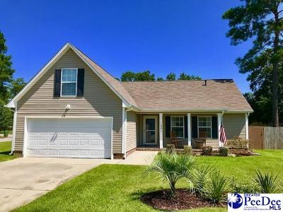 Florence Single Family Home Uc/Show For Back Up: 1021 Hannah Drive