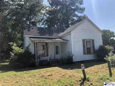 Bennettsville Single Family Home For Sale: 4 Pershing Street