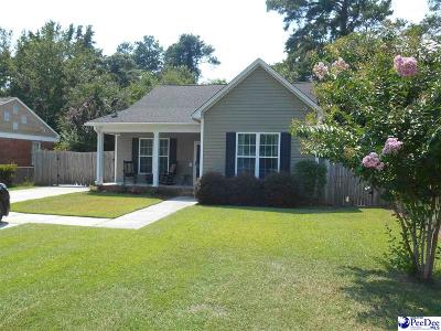 Florence Single Family Home Uc/Show For Back Up: 855 Congaree