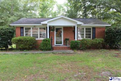 Hartsville Single Family Home For Sale: 139 Robinhood