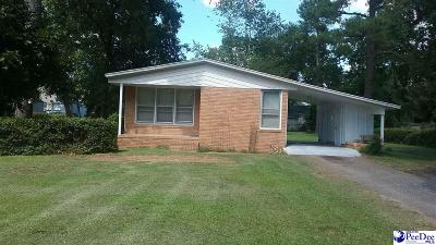 Florence Single Family Home Uc/Show For Back Up: 2413 W McCown Drive