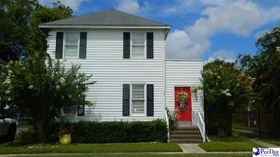 Florence Single Family Home Uc/Show For Back Up: 409 N Ebenezer Road
